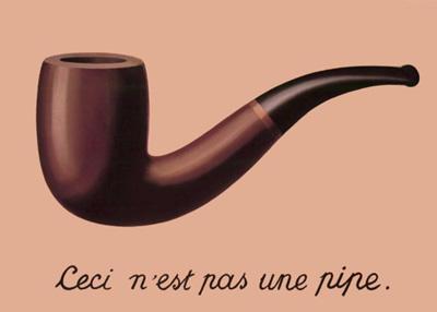 Magritte - La traicion de las imagenes