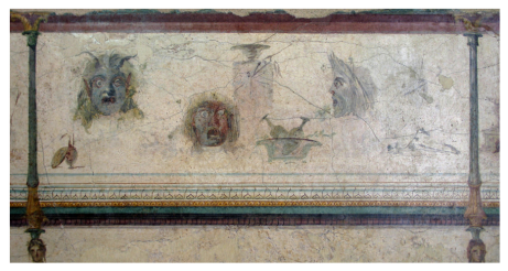 La Villa della Farnesina, corridor G, Palazzo Massimo Alle Terme, Museo Nazionale Romano