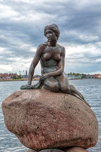 La Sirenita de Copenhague, Edvard Erikson, 1913