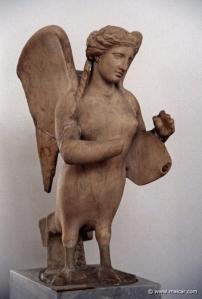 Sirena de Kerameikos, Grecia, siglo IV a.C.