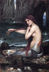 Una Sirena, Waterhouse, 1901