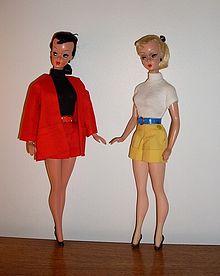 Muñecas vintage Lilli Bild de los años 1950 (Imagen: Wikipedia)